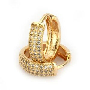 COMING SOON! Cubic Zirconia Round Huggie Hoops